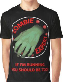Zombie Expert Graphic T-Shirt