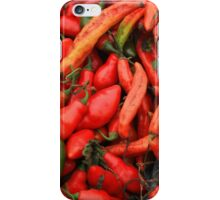 Hot Peppers iPhone Case/Skin