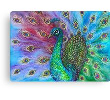 The Perfect Peacock. Canvas Print
