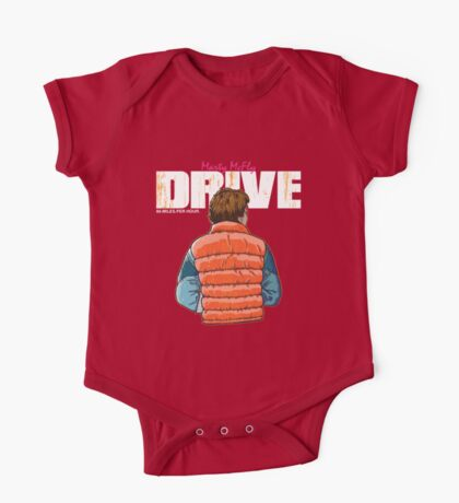 Back to the Future - Drive One Piece - Short Sleeve