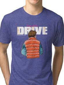 Back to the Future - Drive Tri-blend T-Shirt