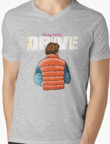 Back to the Future - Drive Mens V-Neck T-Shirt
