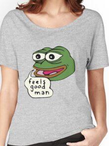Feels Good Man Women's Relaxed Fit T-Shirt