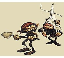 Fantasy Mining Gnomes from Faeries Photographic Print