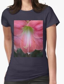 The Heart of  an Amaryllis Womens Fitted T-Shirt