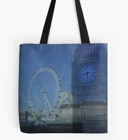Iconic London buildings Tote Bag
