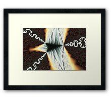 Magic Arrowhead Framed Print