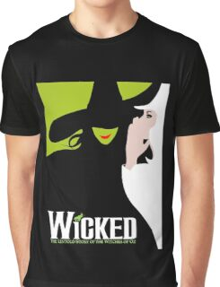 Wicked Broadway Musical Graphic T-Shirt