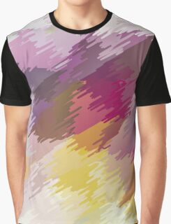 Abstract colorful bright background with brush strokes texture Graphic T-Shirt