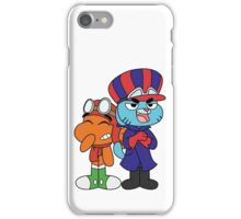 Gumball and Darwin - Wacky Racers iPhone Case/Skin