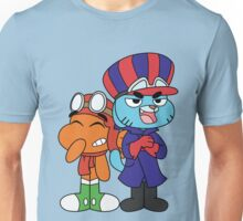 Gumball and Darwin - Wacky Racers Unisex T-Shirt