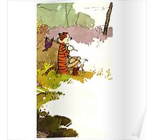 Calvin and Hobbes Adventure Poster
