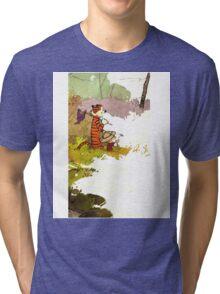 Calvin and Hobbes Adventure Tri-blend T-Shirt