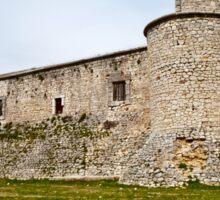 View of Castle in Spain Sticker