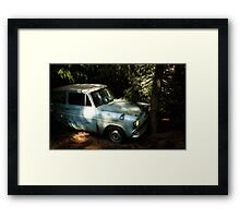 Weasley Car Framed Print