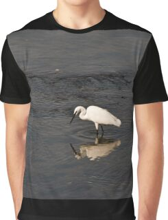Egret Graphic T-Shirt