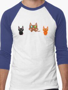 Kittens Men's Baseball ¾ T-Shirt