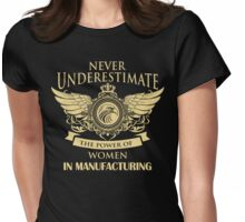 women in manufacturing Womens Fitted T-Shirt