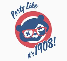 Party Like it's 1908! Women's Fitted V-Neck T-Shirt