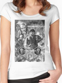 Quatermass and the Pit Movie Design Women's Fitted Scoop T-Shirt