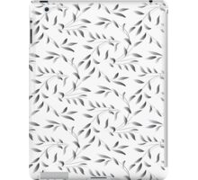 Silver Green Willow Leaf  iPad Case/Skin