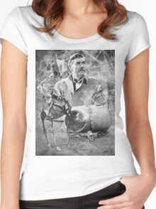 Quatermass and the,Pit TV Design Women's Fitted Scoop T-Shirt