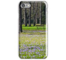 Frühling im Park iPhone Case/Skin