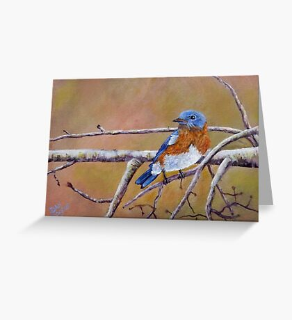 Bluey Greeting Card