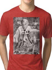 Quatermass II   (TV)  Montage Design Tri-blend T-Shirt