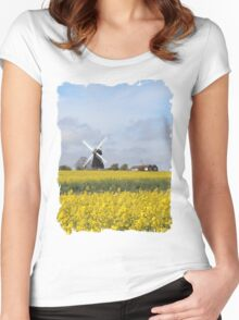 Kent in all its glory Women's Fitted Scoop T-Shirt