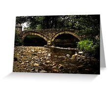Wycoller Bridge Greeting Card