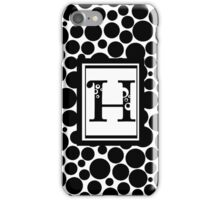 H Bubbles iPhone Case/Skin