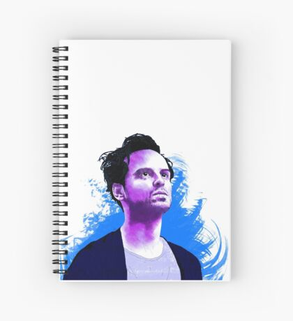 Andrew Scott Spiral Notebook