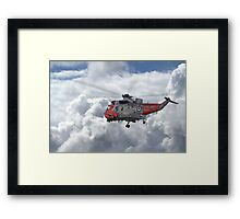 Royal Navy - Sea King Framed Print