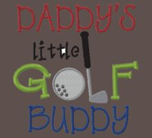 Daddy's Golf Buddy Baby Tee