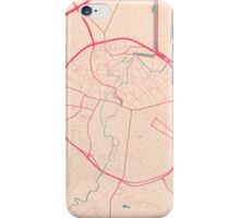 Leuven Map (Springtime) iPhone Case/Skin