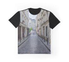 Typical Parisian Suburban Street Graphic T-Shirt