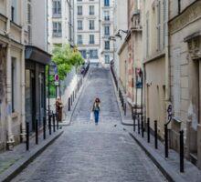 Typical Parisian Suburban Street Sticker