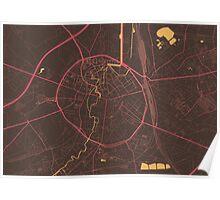 Leuven Map (Summer) Poster