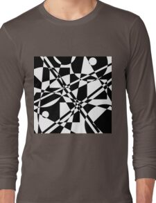 Gestalt Black&White 2 Long Sleeve T-Shirt