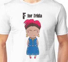 F for Frida Unisex T-Shirt