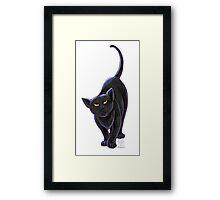 Animal Parade Black Cat Framed Print