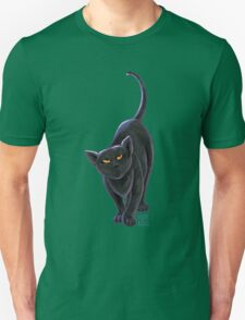 Animal Parade Black Cat Unisex T-Shirt