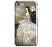 Empress Elisabeth of Austria and Death iPhone Case/Skin