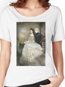 Empress Elisabeth of Austria and Death Women's Relaxed Fit T-Shirt