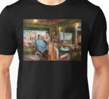 Barber - Getting a trim 1942 Unisex T-Shirt