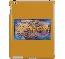 .Take The World By Storm iPad Case/Skin