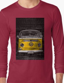 Yellow combi Volkswagen Long Sleeve T-Shirt