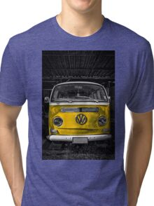 Yellow combi Volkswagen Tri-blend T-Shirt