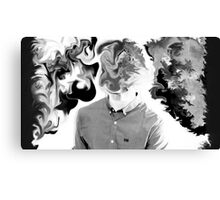 B&W Abstract Canvas Print